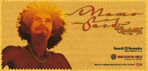 Momo Said (poster e lettering calligrafico) @Maze Electric Circus
