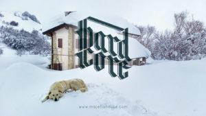 hard core vita in alta montagna #majellahouse con Maja