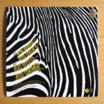 Retro cover di AfroDiscoteca / album inedito di Alessandro Alessandroni per Four Flies Record