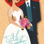 Invito per il matrimonio